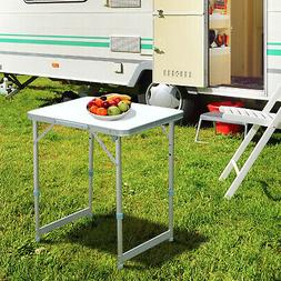 2FT x 1.5FT Outdoor Portable Aluminum Camping Picnic Table F