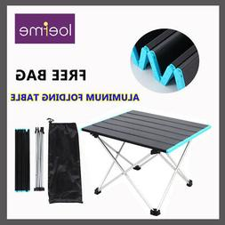 Portable Camping Aluminum Table Outdoor Picnic Lightweight F