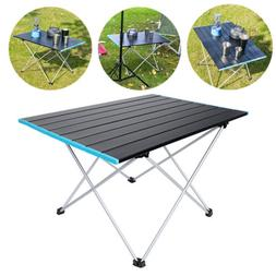 Portable Folding Table Aluminum Indoor Outdoor BBQ Picnic Pa