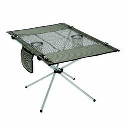 Portable Folding Table Lightweight Camping Picnic 50 lb. Cap