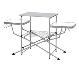 portable outdoor folding camping grilling table
