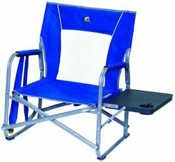 GCI Outdoor Slim Fold Low Height Backpack Event Chair Table