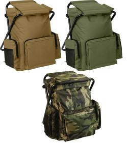 travel backpack with stool combo camping bag