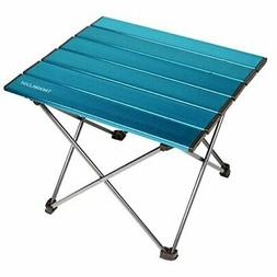 trekology portable camping side tables with aluminum