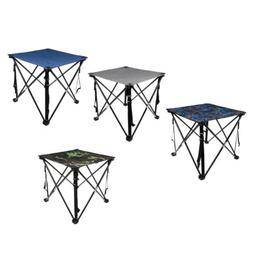Waterproof Folding Table Compact Foldable Travel Camping wit